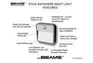 2. Mr. Beams Stick Anywhere Night Light - 361654
